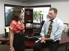 Kristina Rose is a hot secretary with a desire for rod