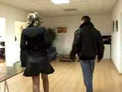 Nasty Secretary Blows Her Boss