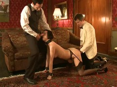 Hot hot babe's hot helpers screwed and punished in bondage.