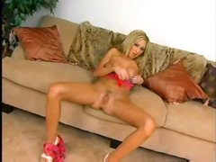 Joy underware on Hillay the blond sweetheart