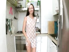 Evelina chicks kitchen cum on the unit
