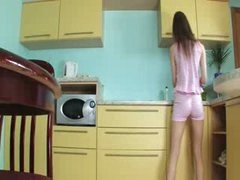 luxury toying cookie in the kitchen