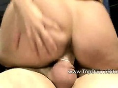 Two breasty femdom chicks fuck a teen stud